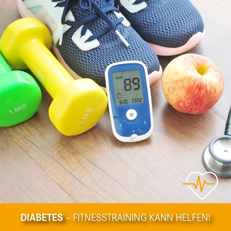 Diabetes – Fitnesstraining kann helfen!